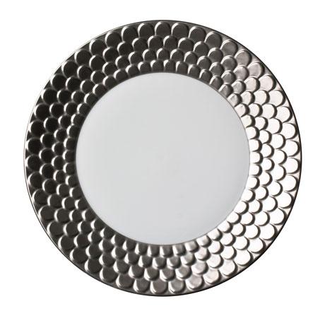 Aegean Platinum Dessert Plate