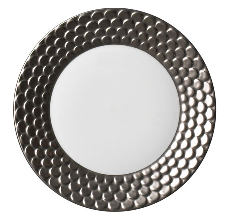 Aegean Platinum Bread & Butter Plate