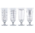 150 NEW VINTAGE ICED BEVERAGE GLASS S/4
