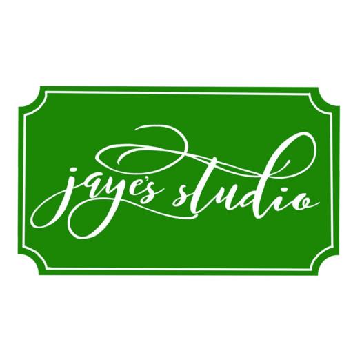 Jaye\'s Studio   Blue Floral Tray $85.00