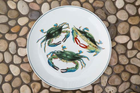 Blue Crab dinnerware u0026 Serveware by Jersey Pottery & Official News for Kitchen 2 Table from Bridge Catalog - Atlanta GA