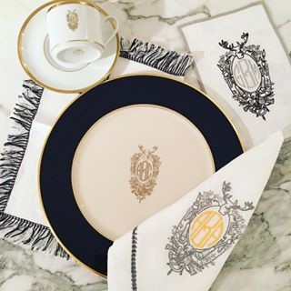 ... table linen company Halo Home by Kimberly Schlegel Whitman to offer new monogramming and personalization options to Pickard\u0027s dinnerware assortment. & Pickard China is partnering with table linen company Halo Home by ...