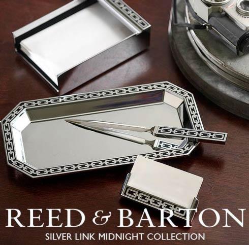 Reed & Barton Silver Link