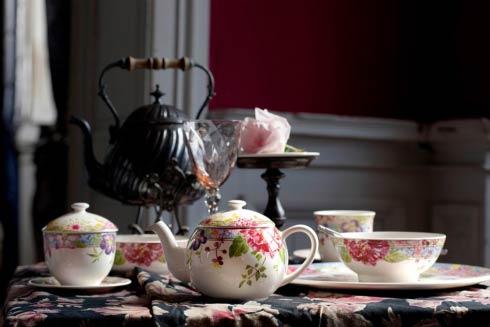 Gien Tea Set