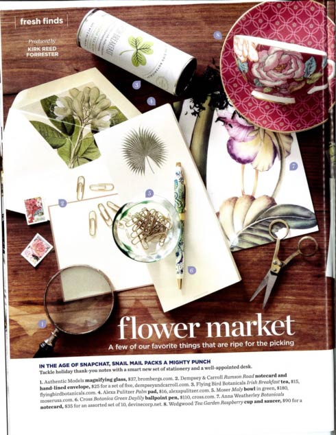 Anna Weatherley Flower Magazine