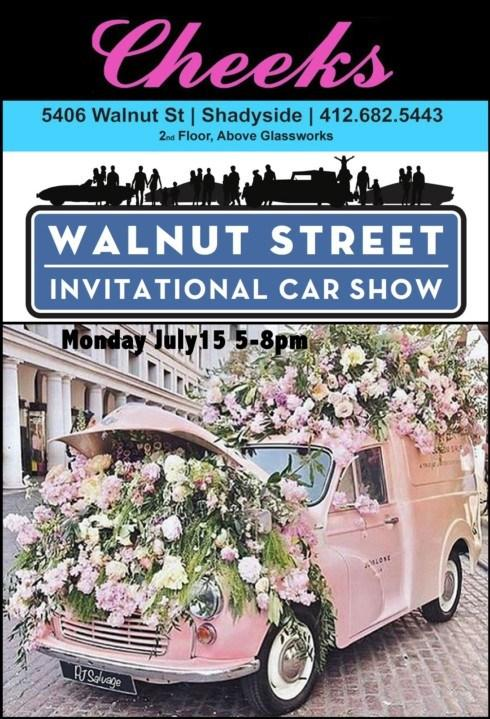 Preview The Sidewalk Sale At Cheeks During The Walnut St. Car Show!