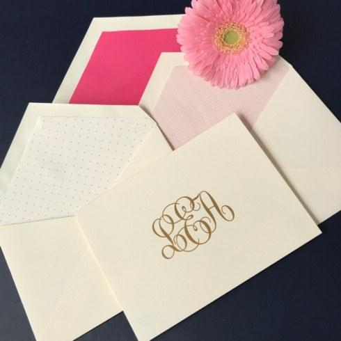 Perfectly Personalized Stationery Sale!