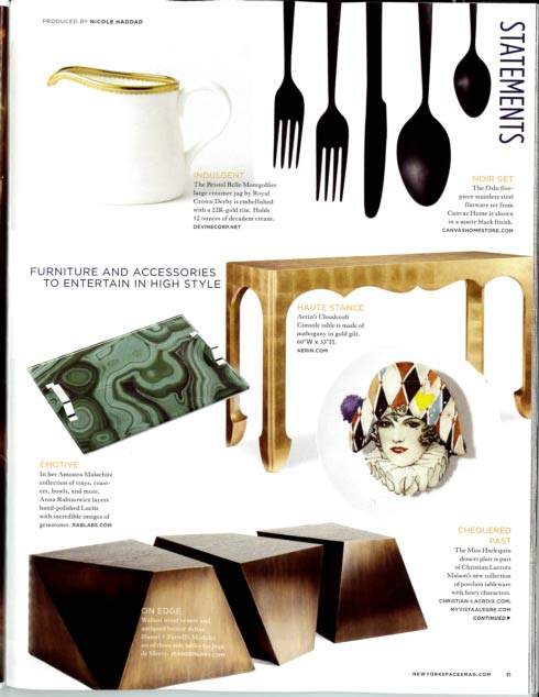 Royal Crown Derby New York Spaces Magazine