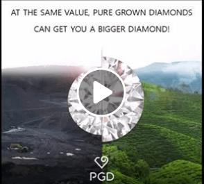 grown diamonds