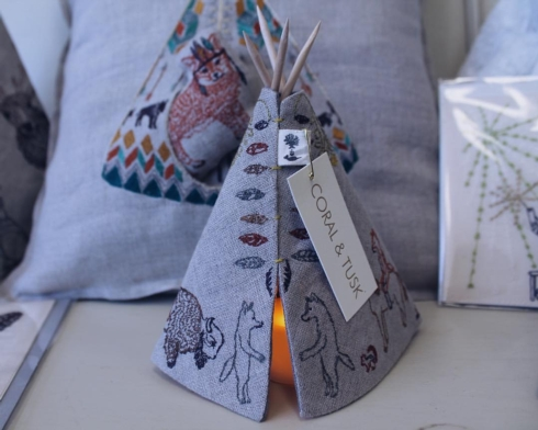 Coral and Tusk teepee