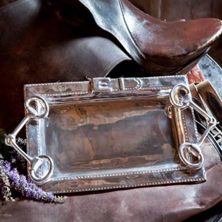 Beatriz Ball Western Collection; Kentucky Derby; mint juleps; tray