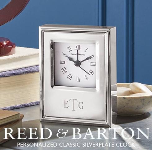 Reed & Barton Clock
