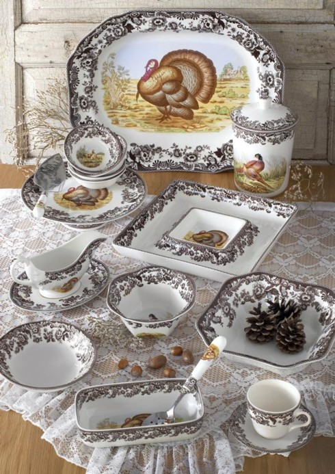 Spode Thanksgiving & Official News for La Dentelliere from Bridge Catalog - Scarsdale NY