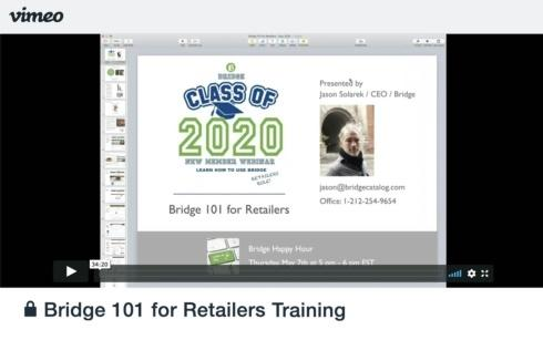 Training Video: Bridge 101 for Retailers