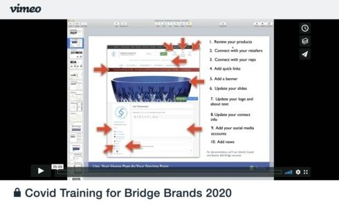 Training Video: COVID-19 Webinar for Brands