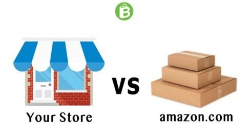 your store vs amazon