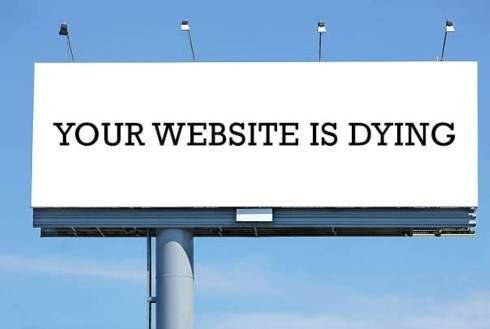 websites are dead