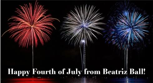 Beatriz Ball Fourth of July
