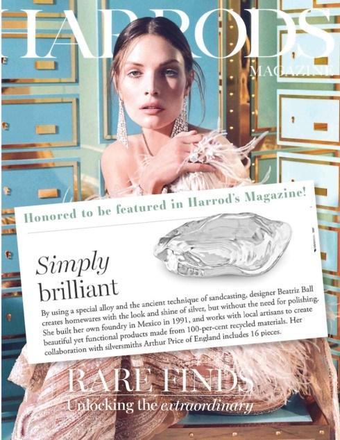 Beatriz Ball Harrod's Magazine