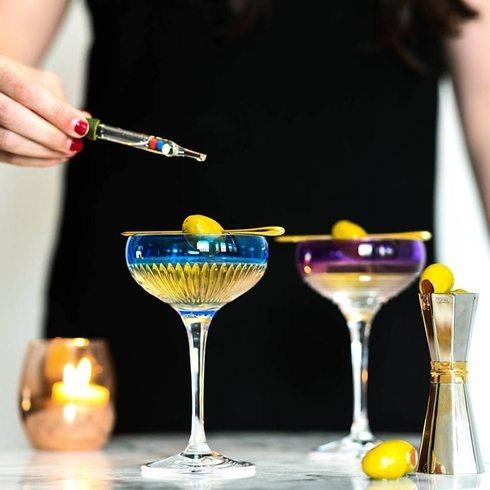 Waterford martini glass