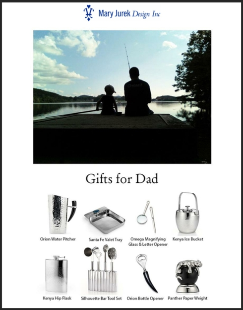 Mary Jurek Father's Day Specials