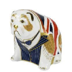 Royal Crown Derby Churchill Bulldog
