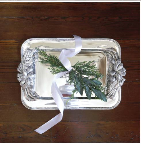 Beatriz Ball tray' pinecone tray; fall tray; fall servers; wedding gift