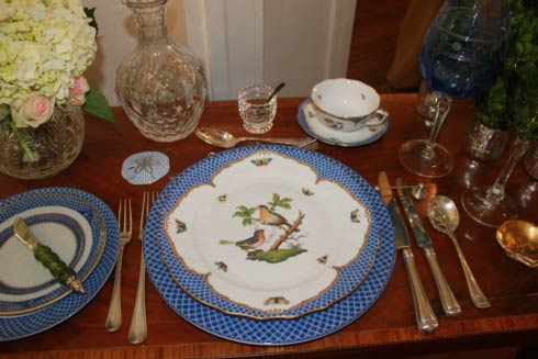 Herend tablescape