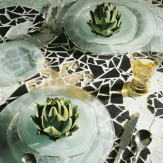B.C. Dinnerware collection with 5 products