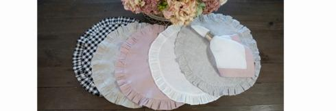 Placemats by Crown Linen Designs collection with 11 products