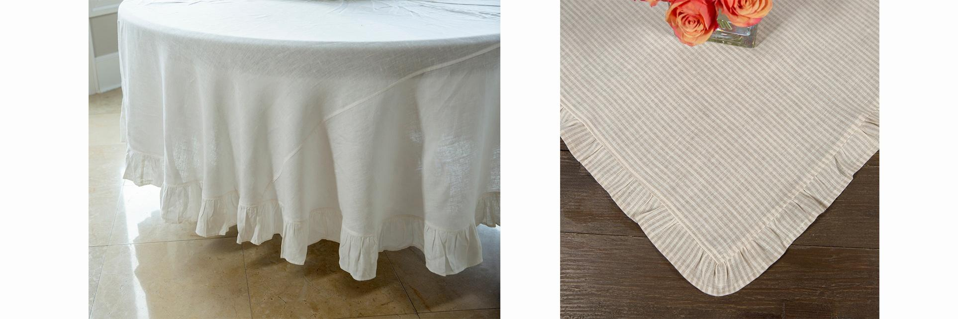 Lifestyle image 1 for Table Squares & Tablecloths by Crown Linen Designs