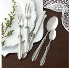 Bella Bianca Flatware collection