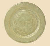 Good Earth Pottery  Celery Small Square Plate GOE-477 $39.00