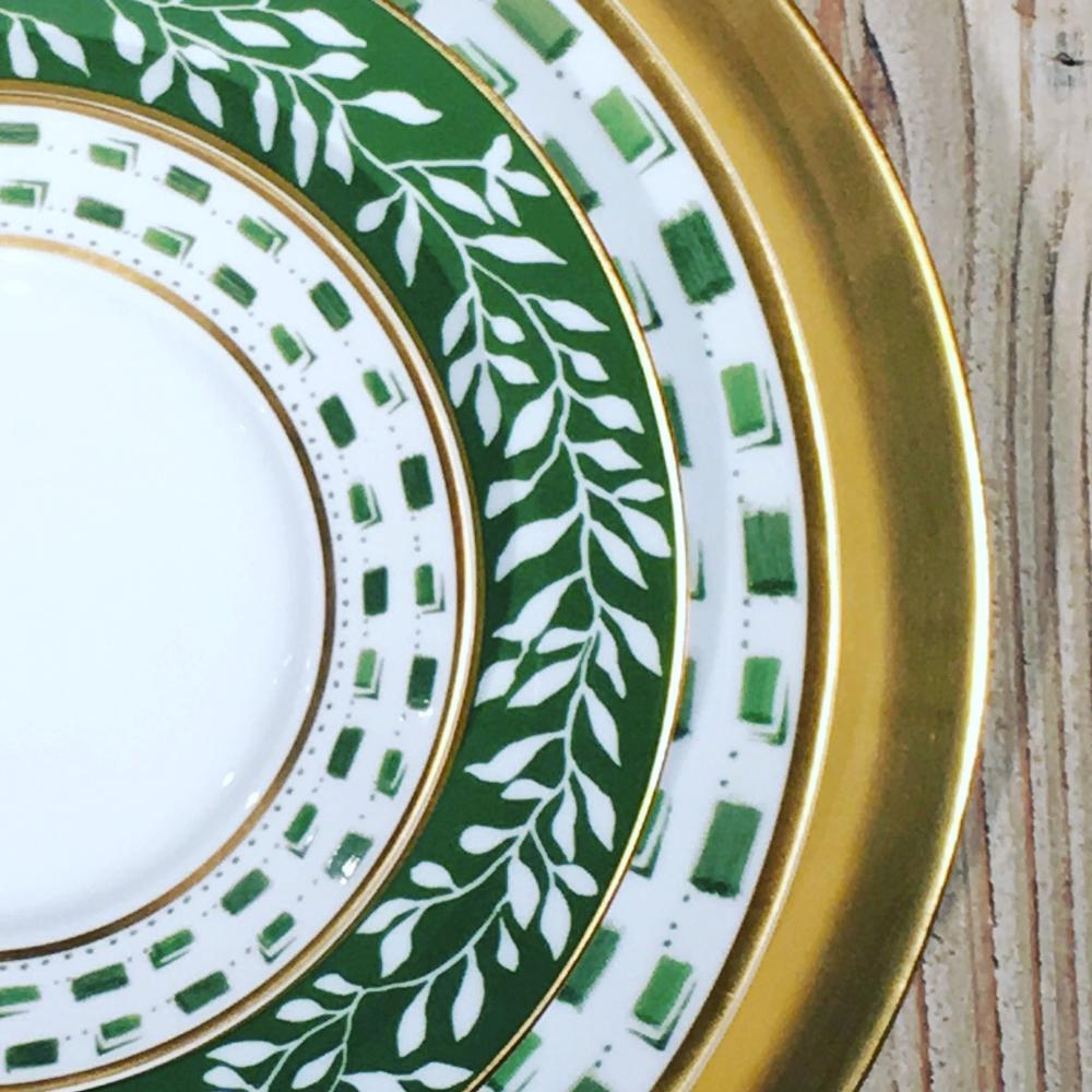Lifestyle image 1 for Recamier - La Bocca green
