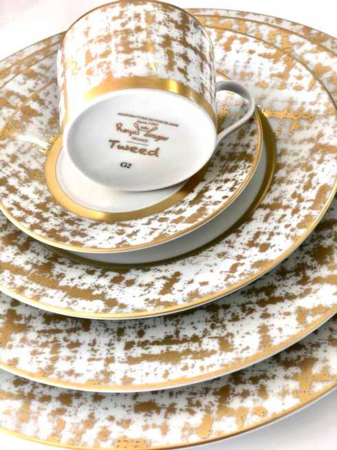 Lifestyle image 1 for Recamier - TWEED WHITE&GOLD
