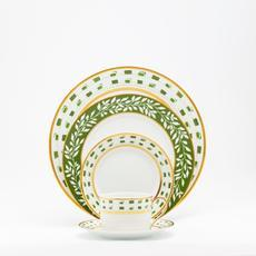 Recamier - La Bocca Leaf (green) collection