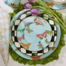 Butterfly Garden - Sky Enamelware collection