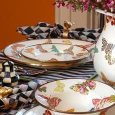 Butterfly Garden Enamelware collection