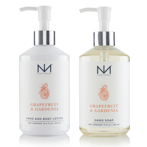 Grapefruit & Gardenia collection with 5 products