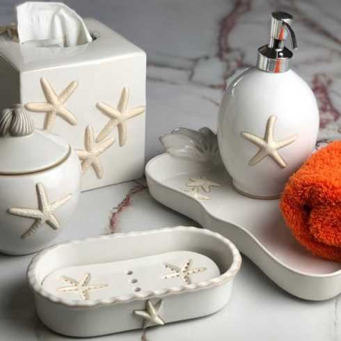 Starfish Bathroom Accessories collection with 15 products