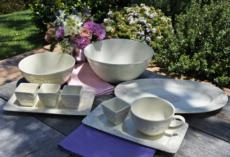 Flower Garden Dinnerware and Serveware collection