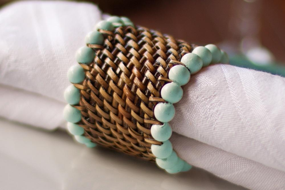 Lifestyle image 1 for Handwoven Napkin Ring