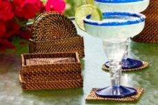 Table Collection Handwoven  Coasters