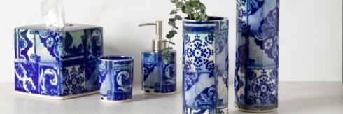 Lisboa Bath collection with 5 products