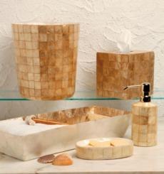 Organic Bath - Champagne Capiz collection