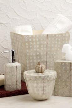 Bath Collection - Ostrich Capiz collection