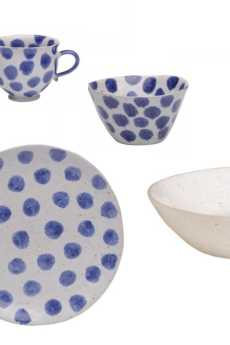 Spot On - Blue Spots collection