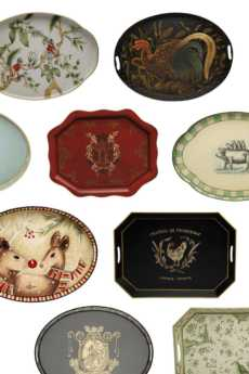 Toleware Trays  collection