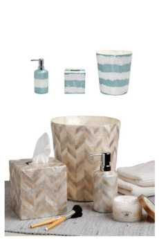 Bath Collection - Waves Capiz collection