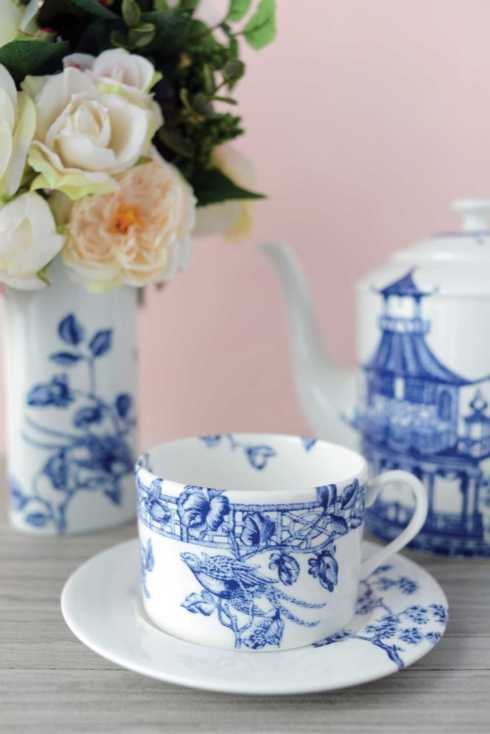 WILLIAMSBURG - Chinoiserie Toile collection with 7 products